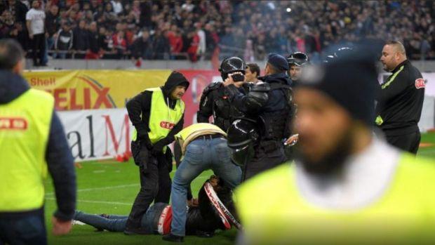 Incidente şi după finalul meciului FCSB vs Dinamo, încheiat 1-1! Ultrași interziși pe stadioane