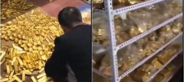 Tatăl corupților! 13 tone de aur si 34 de miliarde dolari gasite in beciul unui fost primar! Ce pedeapsă riscă
