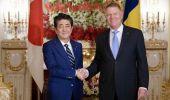 Preşedintele Klaus Iohannis se întâlneşte cu premierul nipon Shinzo Abe în Japonia