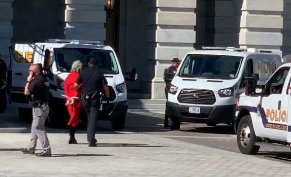 Jane Fonda a fost arestată în timpul unui protest! Video