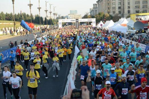 Maratonul Internațional București. Restricții masive de circulație în weekend, în Capitală