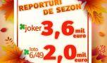 Numerele câștigătoare extrase la tragerile speciale loto ale toamnei de joi, …