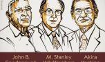 Premiul Nobel pentru Chimie, câștigat de inventatorii bateriilor litiu-ion