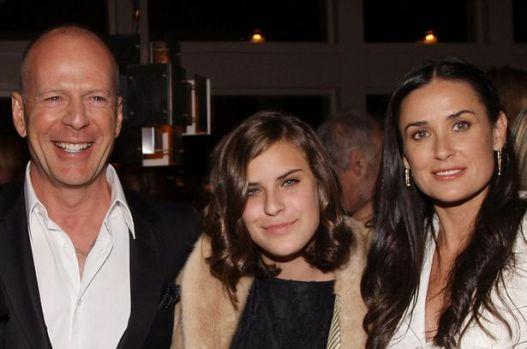"""Una dintre fiicele lui Bruce Willis și Demi Moore o face praf pe mama sa: """"O bețivă!"""""""
