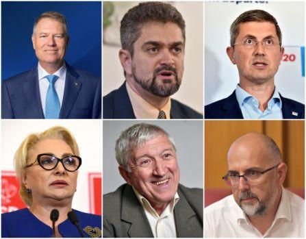 Alegeri prezidențiale 2019. Declarațiile candidaților pentru Cotroceni după ce au ieșit din secțiile de votare