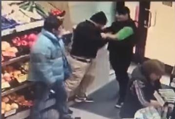 Timișoara. Bătaie între vânzătoarea unui magazin și doi hoți! Ce au vrut să fure aceștia! Video