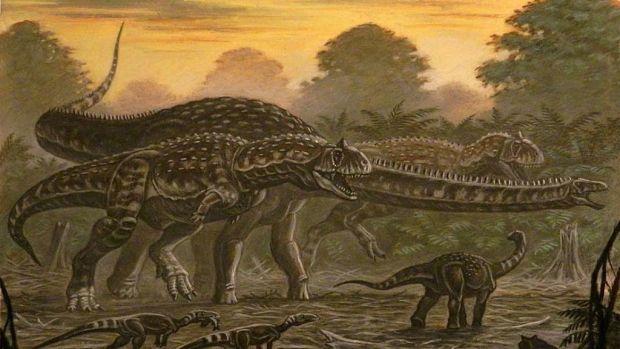 S-a descoperit o specie de dinozaur care-și înlocuia dinții la fiecare câteva luni