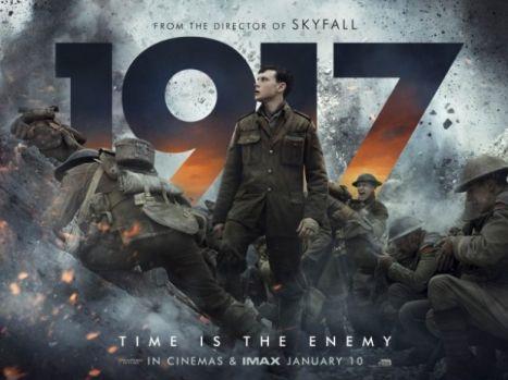 """Top 10 al filmelor cu cele mai mari încasări în cinematografe weekend-ul trecut! Drama """"1917"""" este lider! Video"""