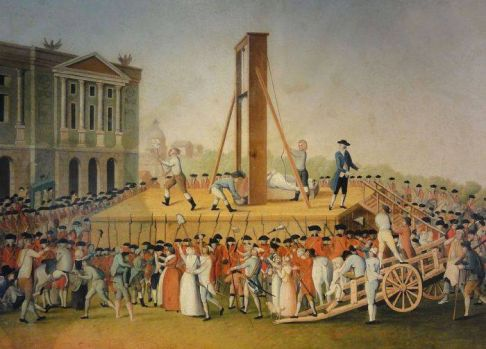 "Joseph Guillotin și ""mașina morții umane"", ghilotina"