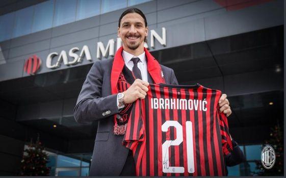 """Zlatan Ibrahimovic, prezentat oficial la AC Milan: """"Nu am venit aici pentru a fi mascotă""""!"""