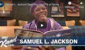 """Samuel L. Jackson transmite un mesaj clar și plin de beep-uri din izolare: """"Stați dracu' acasă!"""" Vi…"""